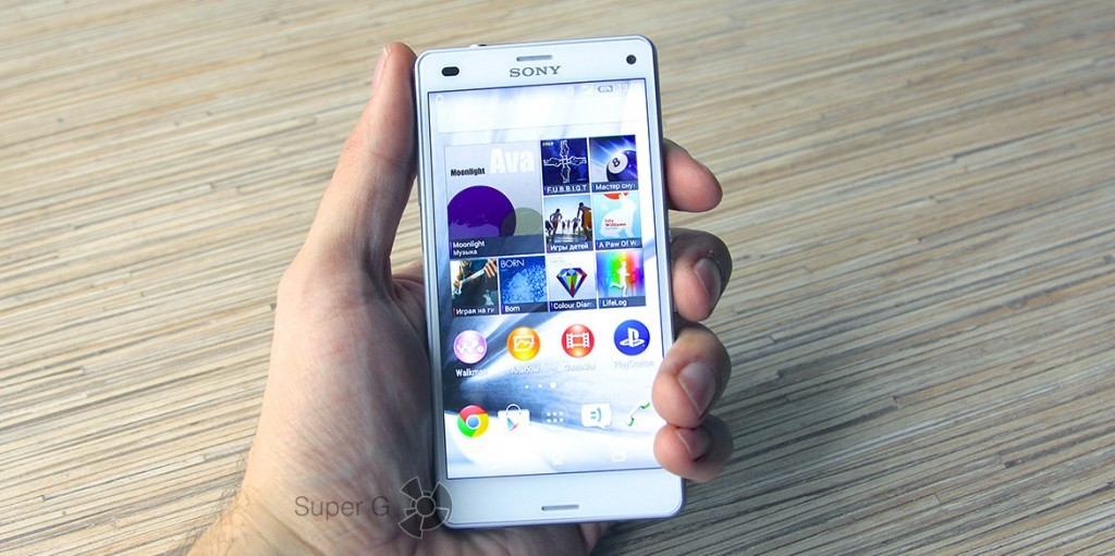 Обзор Sony Xperia Z3 Compact