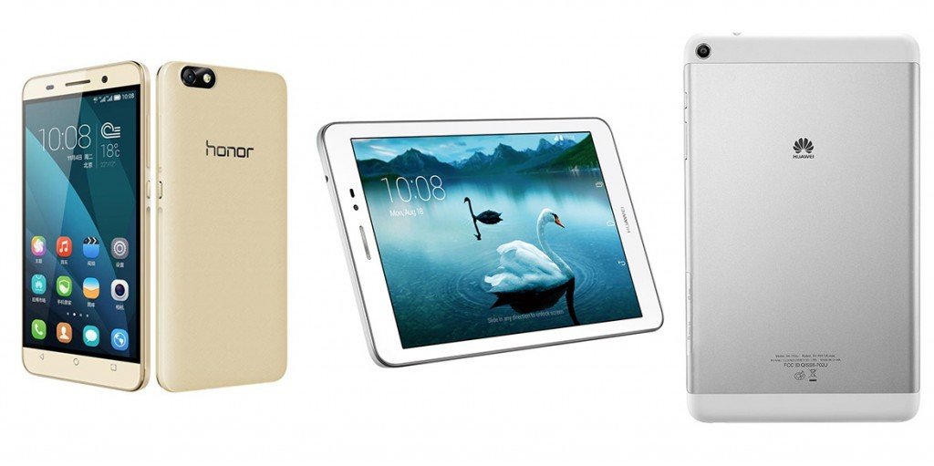 Huawei Honor T1 и Honor 4X