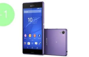 Sony Xperia Z3 фиолетовый