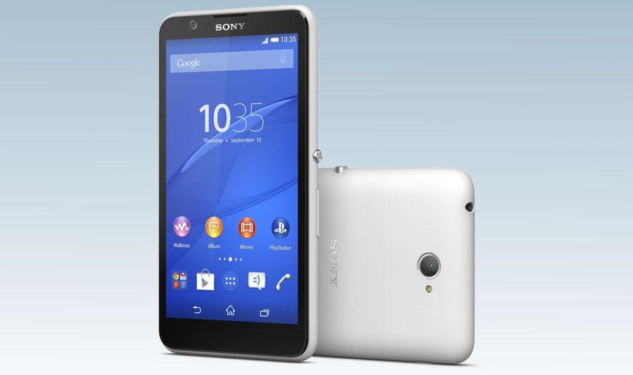 Белый Sony Xperia E4