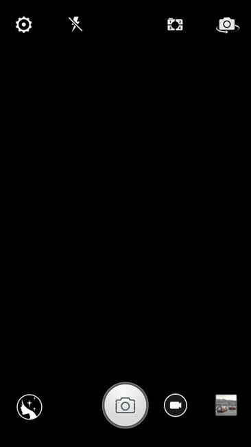 Видоискатель фронтальной камеры