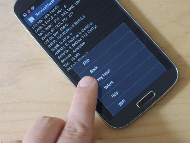Секретные сервисные коды для Samsung