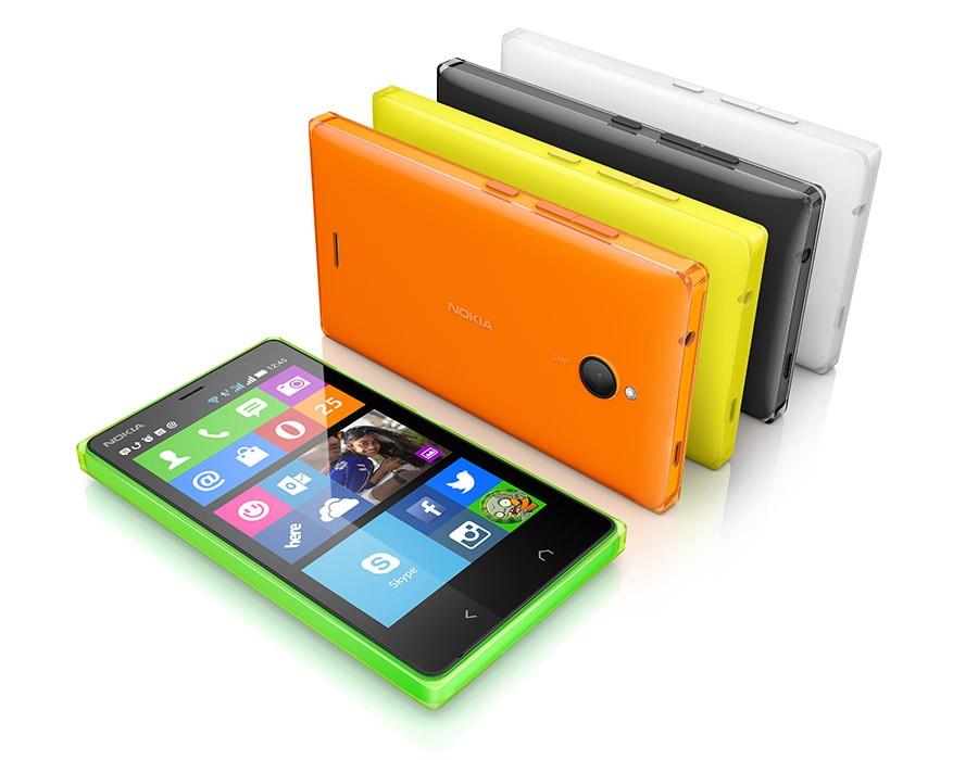 Цвета Nokia X2