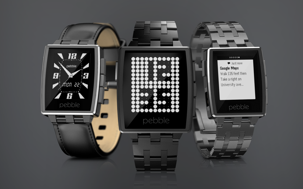 Pebble Steel цена