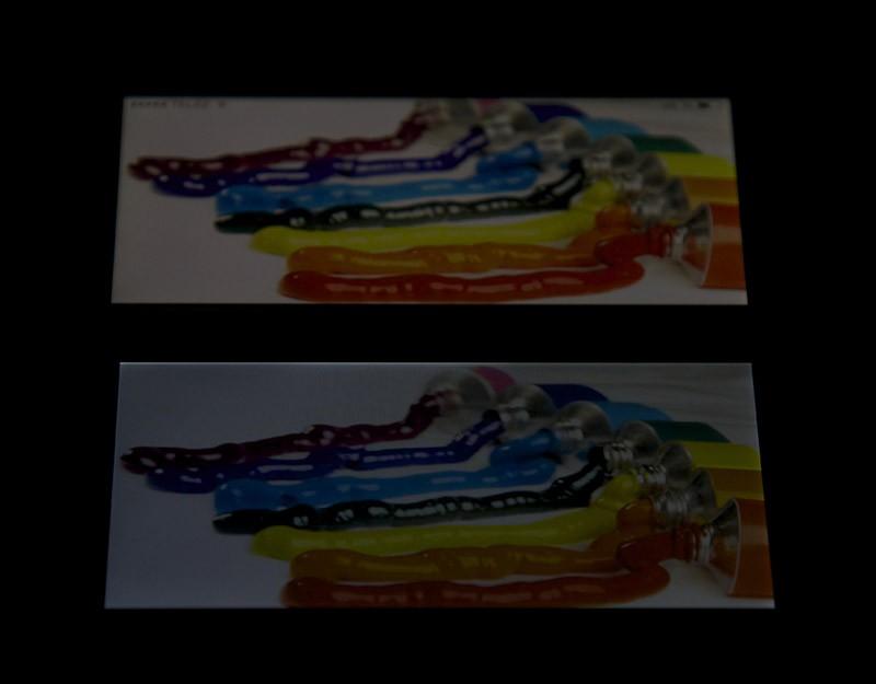 Сравнение Nokia X c iPhone 5 (под углом)