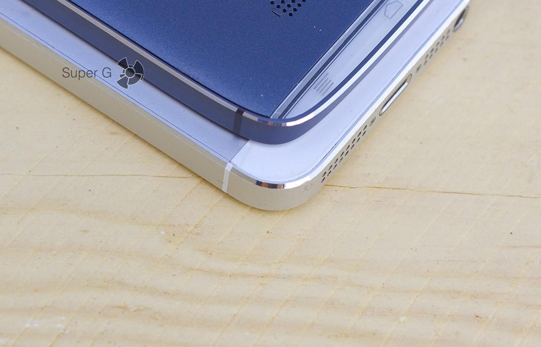 Сравнение 6032X с iPhone 5