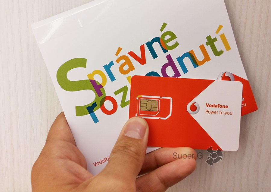 Vodafone Чехия
