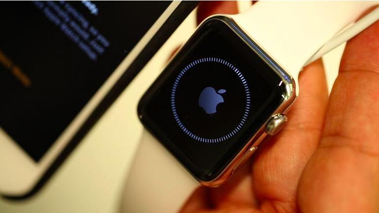 Загрузка Apple Watch