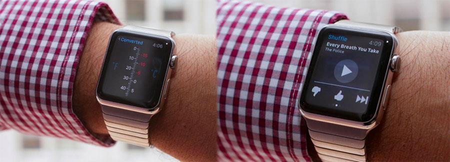 Различные приложения на Apple Watch
