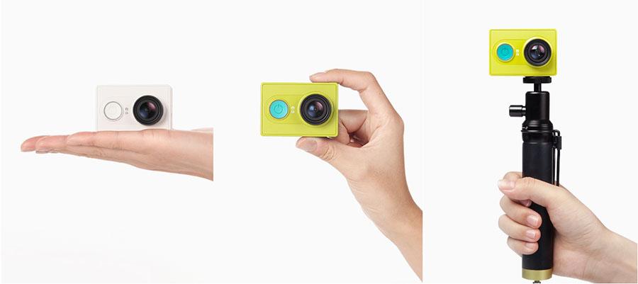 Цвета и комплекты Xiaomi Yi Action Camera