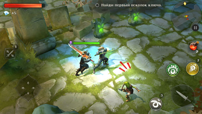 Dungeon Hunter 5 Honor 6 Plus 2