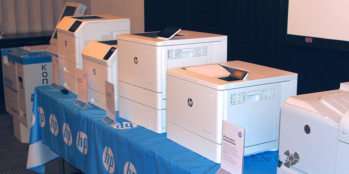 Новая линейка принтеров HP Color LaserJet Enterprise M604/605/606