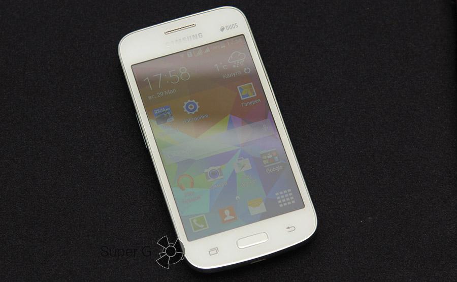 Смартфон White Samsung Galaxy Star Advance G350E