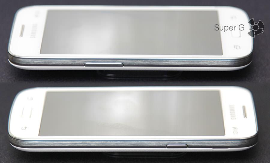 Боковые стороны Samsung G350E