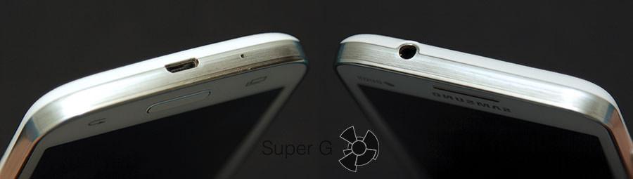 Нижний и верхний торцы Samsung G350E