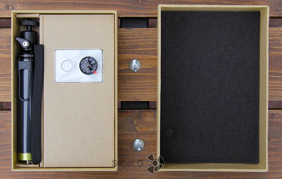 Упаковка Xiaomi Yi Camera