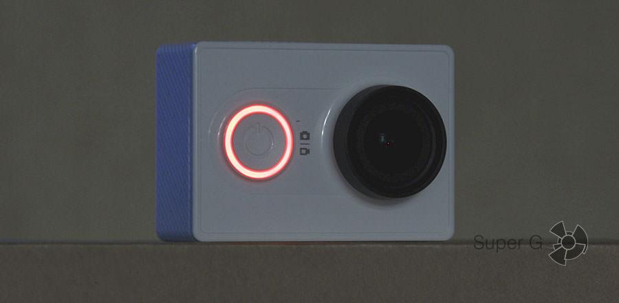 Камера на зарядке