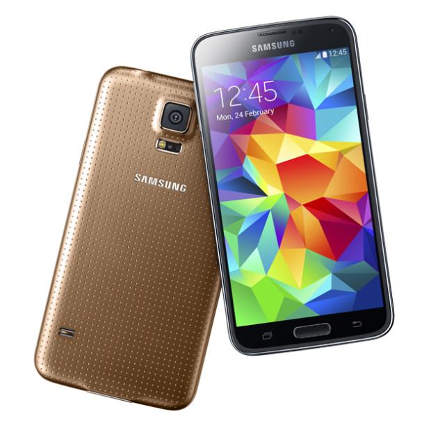 Samsung Galaxy S5 Gold Edition
