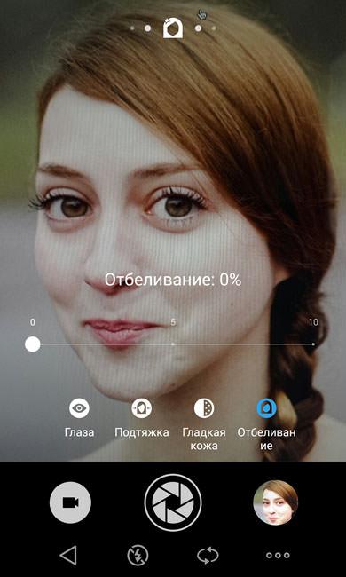 Отбеливание лица (0 процентов)