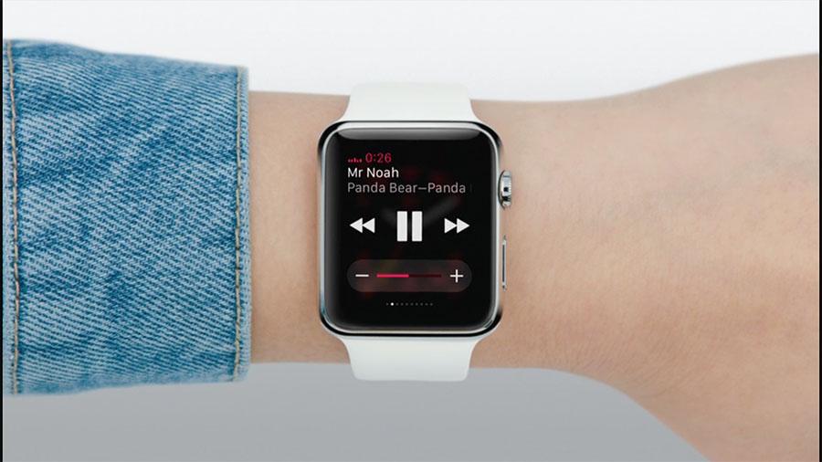 Проигрывание музыки на Apple Watch