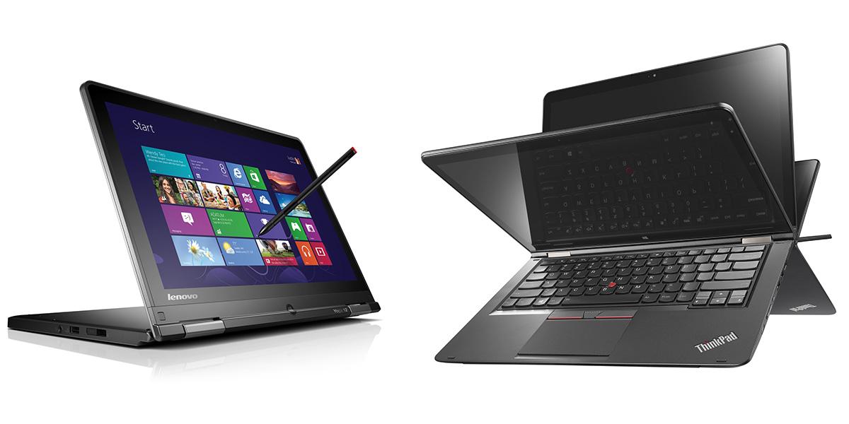 Характеристики, цены, модели ноутбуков Lenovo ThinkPad Yoga