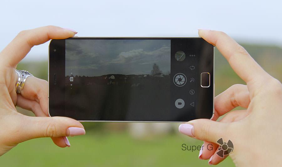 Процесс фотографирования на Meizu MX4 Pro