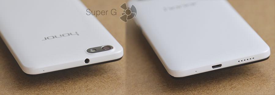 Торцы устройства Huawei Honor 4X
