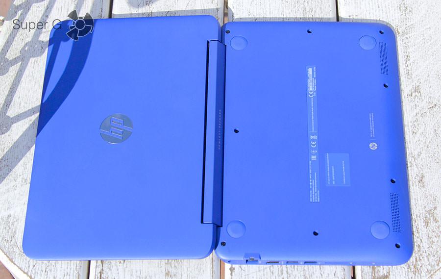 Верхняя крышка и дно ноутбука HP Stream x360