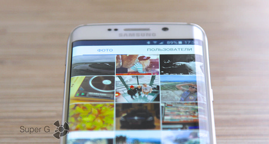 Instagram для Samsung Galaxy S6 Edge