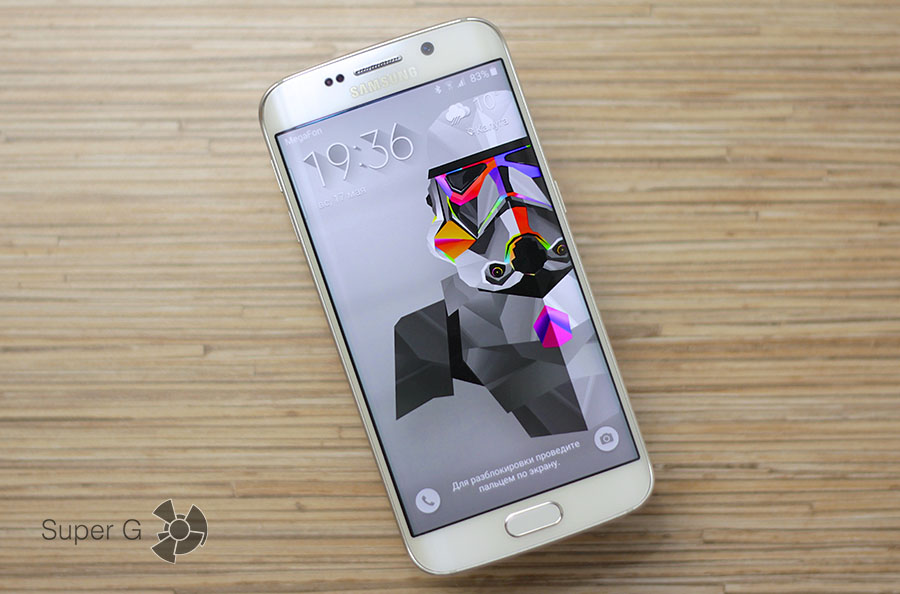 Смартфон Samsung Galaxy S6 Edge White