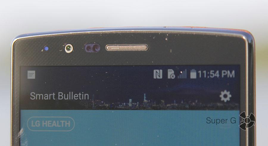 Фронтальная камера LG G4