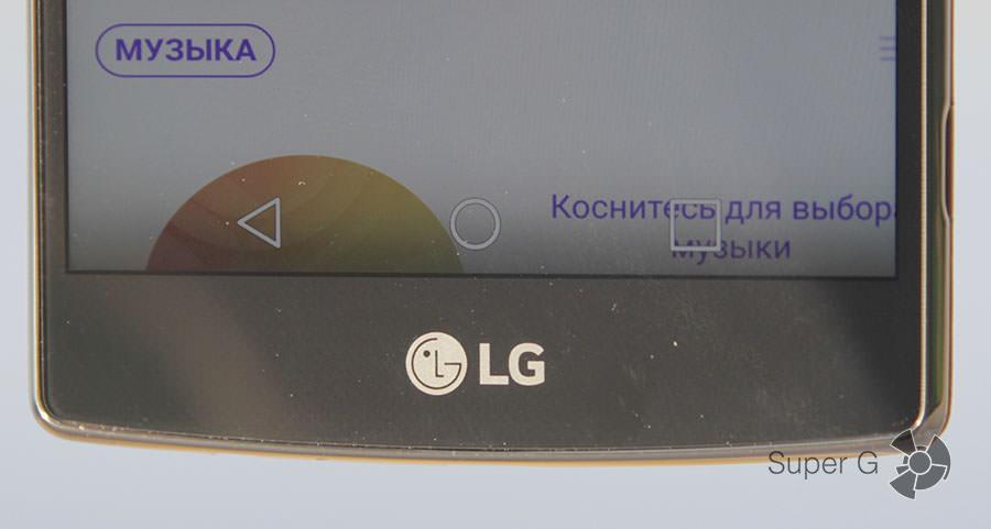 Сенсорные клавиши управления смартфоном LG G4