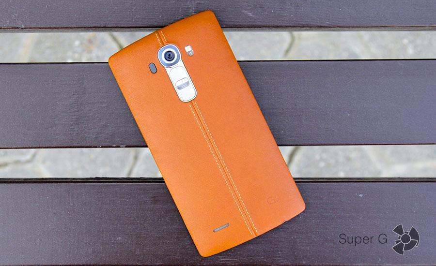 LG G4 ярко-коричневый