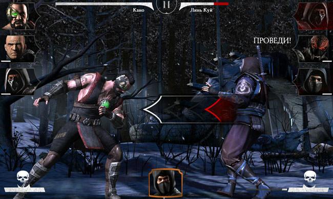 Mortal Kombat X и Meizu MX4 Pro