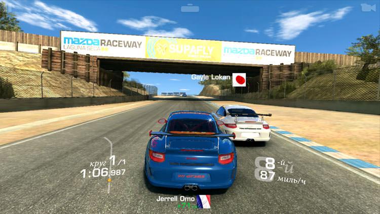 Real Racing 3 на LG G4