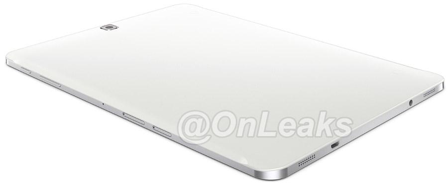 Samsung Galaxy Tab S 2 вид сзади