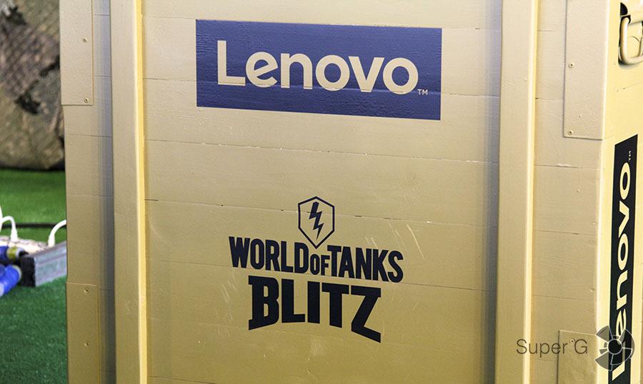 Lenovo и WoT Blitz