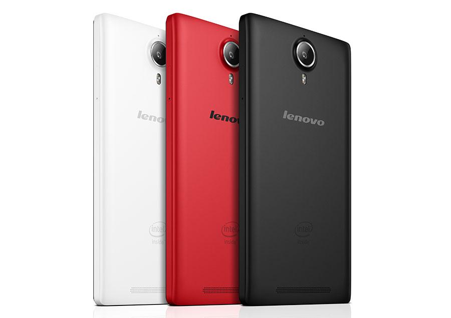 Lenovo P90 черный, белый, красный