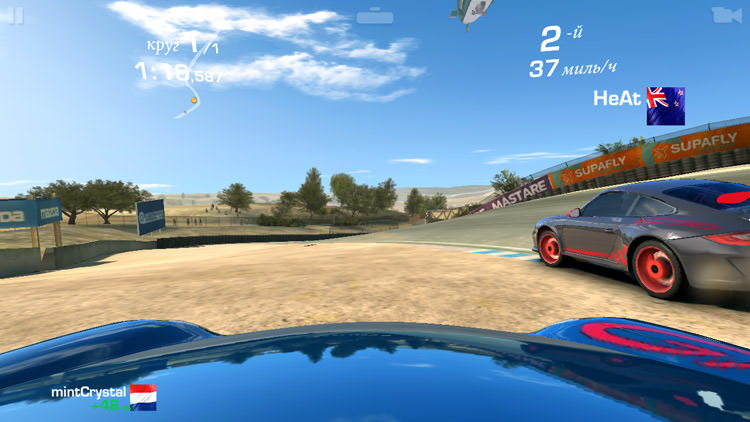 Real Racing 3 и LG Spirit
