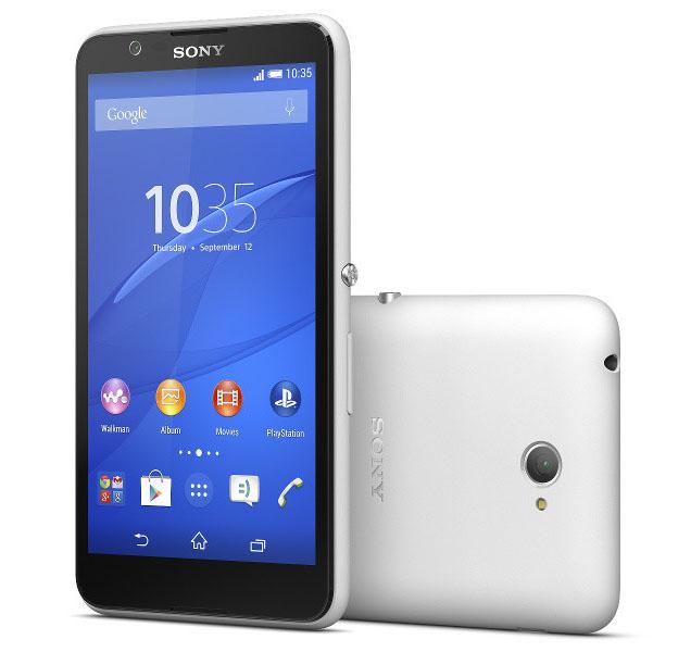 Sony Xperia E4 белый (White)