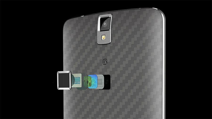 Сканер отпечатков пальцев Elephone P8000