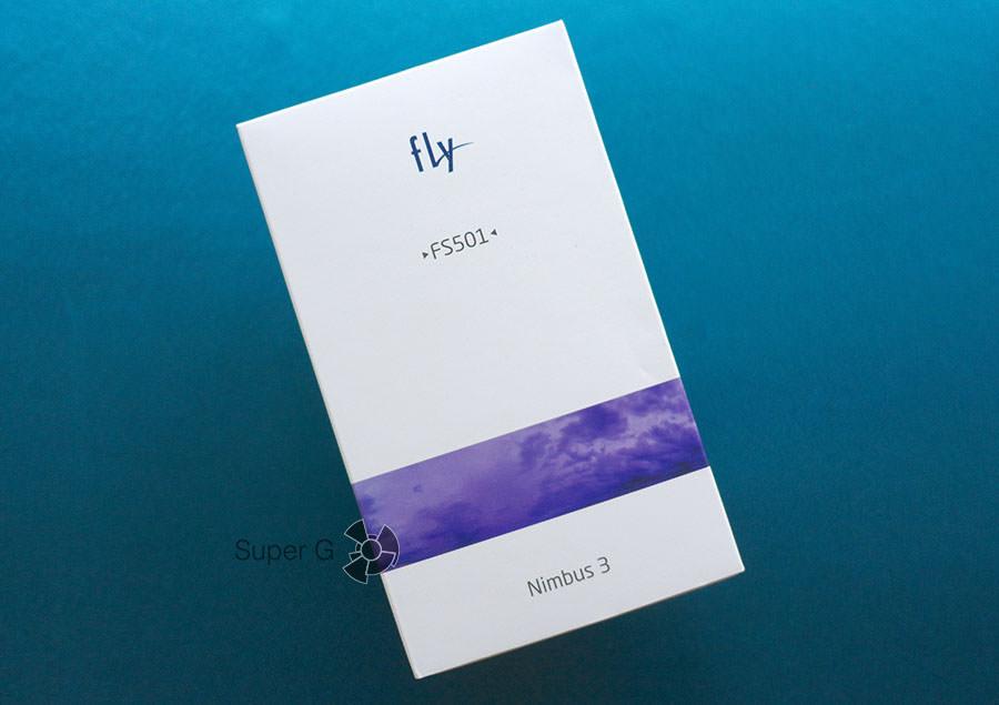 Упаковка или коробка от Fly Nimbus 3 FS501