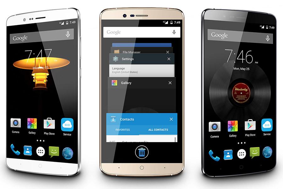 Elephone P8000 White, Black, Gold - Белый, черный, золотой