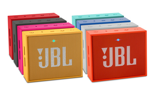 JBL GO Yellow, Red, Grey, Pink, Black, Teal