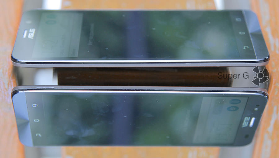Боковые стороны смартфона Asus Zenfone 2 ZE551ML