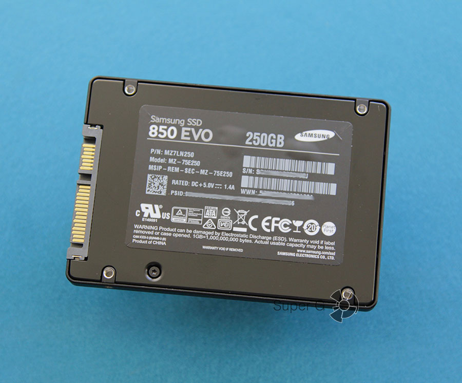 Жесткий диск Samsung EVO 850 250 GB