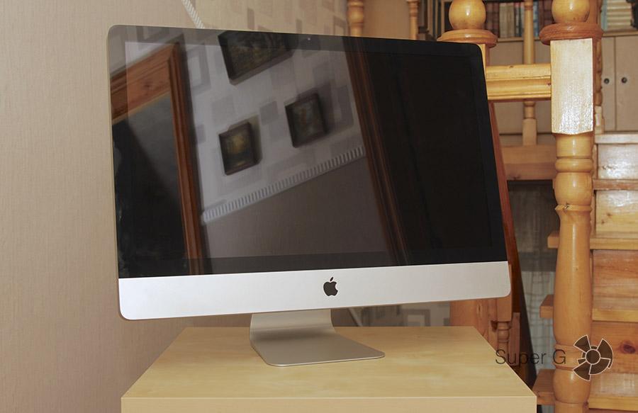 Установить SSD в iMac 27