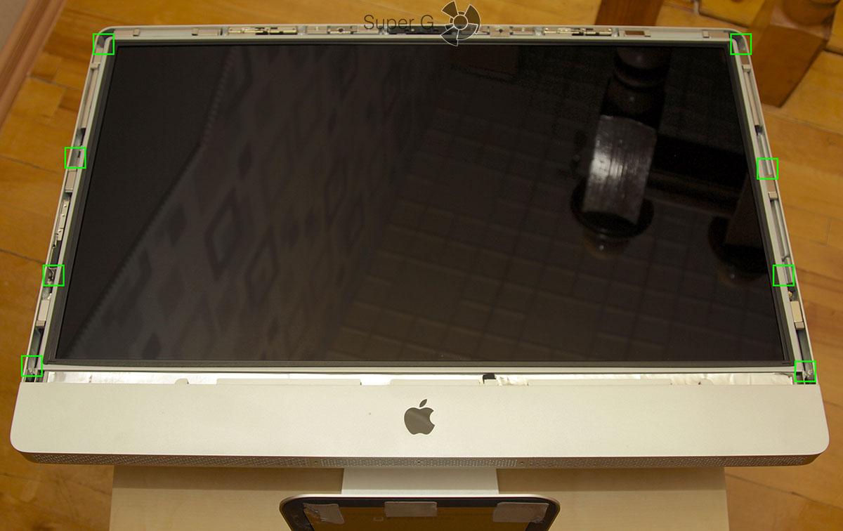 Как разобрать Apple iMac 27