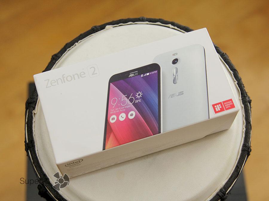 Коробка Asus Zenfone 2 ZE550ML