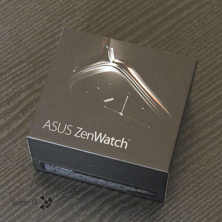 Упаковка Asus Zenwatch